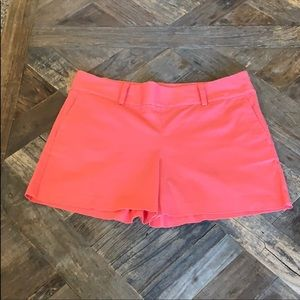 "Ann Taylor like new city shorts coral 4"" 10"